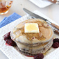 Whole Wheat Pancake Recipe with Ginger & Berries