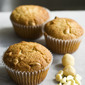 White Chocolate and Macadamia Cupcakes
