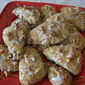NUTTY OAT CRANBERRY SCONES
