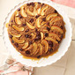 apple-maple upside-down cake