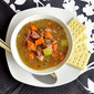 Ham and Green Lentil Soup