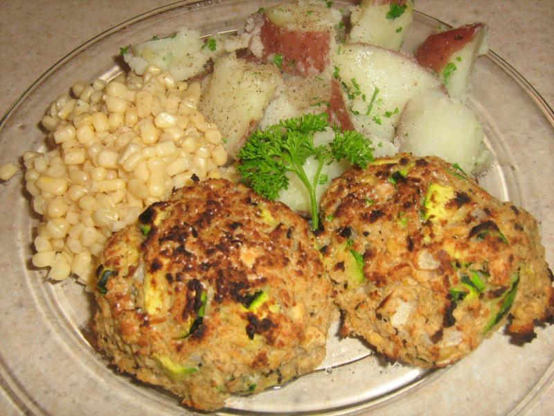"Jumbo Lump ""Crab-less"" Cakes Recipe by Rich - CookEatShare"