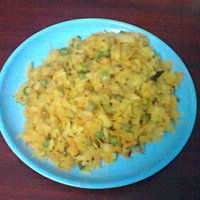 POHA VEGETABLE UPMA