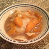 Mom's Homemade Peach Dumplings