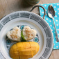 Mango Sticky Rice Dessert - Love on the Plate
