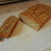 Whole Grain Zucchini Apple Bread