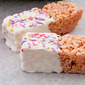 Strawberry Cake Mix Krispie Treats