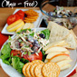 Honey Roasted Chicken Salad (Mayo Free!)