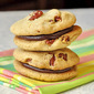 Pecan Chocolate Sandwich Cookies