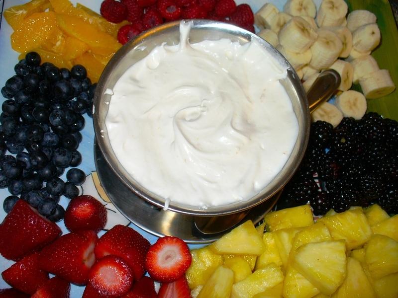 Fresh Fruit with Marshmallow Sauce (A Nut Tree Vintage Recipe) Recipe ...