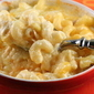 Creamy Macaroni and Cheese with Country Ham and Leeks