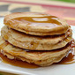 Whole Wheat Banana Pancakes (Guest Post with The Realistic Nutritionist)