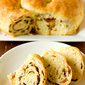 Bacon and Cheese Easter Bread