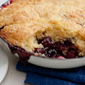 The BEST Blackberry Orange Cobbler Recipe!