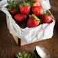 Make life sweeter - Madeira Marinated Strawberries With Toasted Sponge Cake