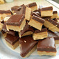 Chocolate and Peanut Butter Squares