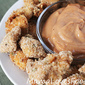 Baked Chicken Nuggets with Dijon Barbecue Sauce