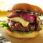 Grilled Chuck Burgers with Extra Sharp Cheddar and Lemon Garlic Aioli