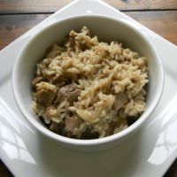 Chicken Livers and Rice