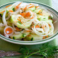 Sweet and Sour Cucumber and Vidalia Onion Salad