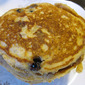 Whole Wheat Blueberry Buttermilk Pancakes
