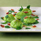 Gnudi for my Foodies with Peas, Bacon & Mint