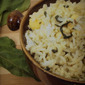 Spinach & Cottage Cheese Rice - Palak Paneer Rice