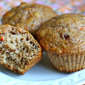 Morning glory breakfast muffins: a recipe
