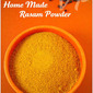 HOME MADE RASAM POWDER | RASA PODI | RASAM POWDER RECIPE