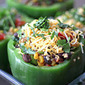 Quinoa and Black Bean Stuffed Peppers (Gluten-Free Guest Post)