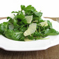 Arugula Salad with White-Wine Vinaigrette and Shaved Parmesan