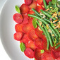 Gwynnie's Beet Carpaccio w/ Marinated Bean Salad