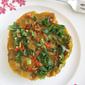 Steamed Savory Pumpkin Kuih (Cake) - 蒸金瓜糕