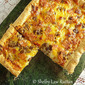 Deep Dish Bacon Cheeseburger Deluxe Pizza