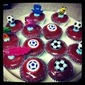 And here's some cupcakes just in time for the MLS First Kick!