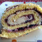 Peanut Butter Jelly Roll Cake