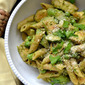 Avocado Pasta with Chicken and Spring Vegetables