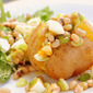 Meatless Day Challenge: Baked Potato with Black-Eyed Peas Salad