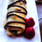 Berry Strudel with Chocolate Drizzle
