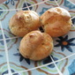 Blue Cheese Gougeres