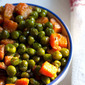 gajar matar sabzi – sauted carrot-peas & auction drive for VSPCA