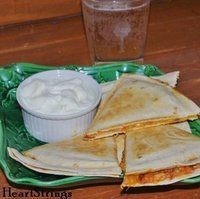 Chicken Chili Quesadillas