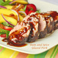 Rum and Spice Glazed Pork