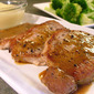 Pan Fried Pork Loin Chops with Dijon Honey Sauce - Easy or Difficult? You Decide
