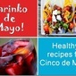 Shrinko de Mayo: Healthy Mexican Meals + 145 Calorie Skinny Sunrise Cocktail