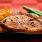 Beer marinated pork chops