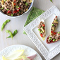 Endive Spears Stuffed with Teriyaki Turkey, Edamame & Baby Corn Recipe {Giveaway}