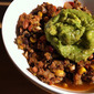 Vegan Chili with Avocado