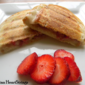 Brie and Strawberry Panini