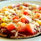 Homemade Whole Wheat Pita Pizzas